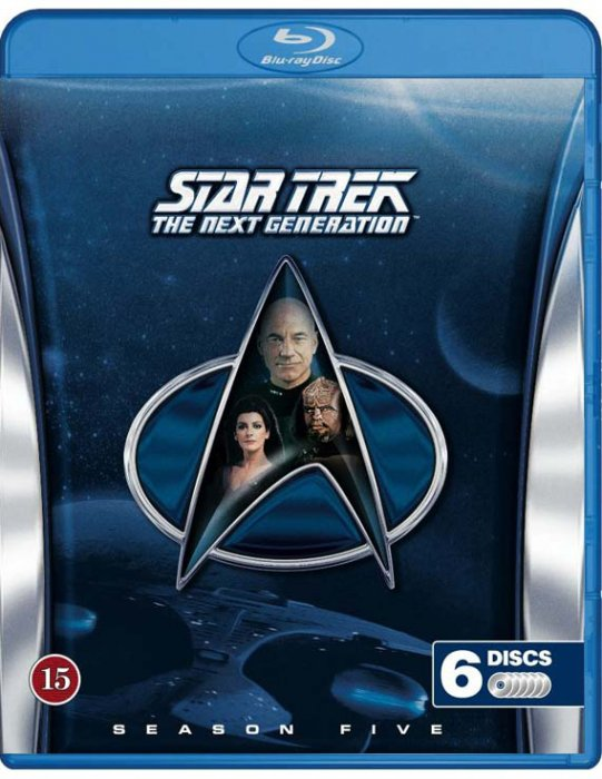 Image of   Star Trek - The Next Generation - Sæson 5 - Blu-Ray - Tv-serie