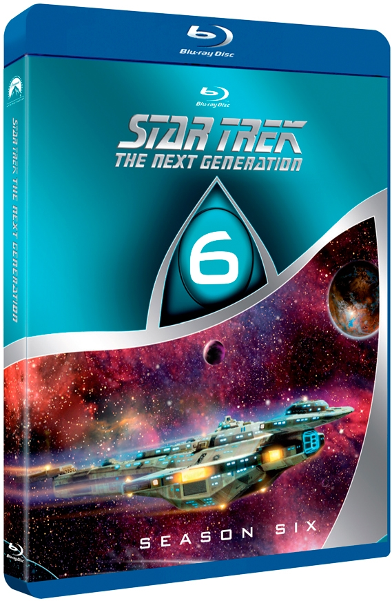Image of   Star Trek - The Next Generation - Sæson 6 - Blu-Ray - Tv-serie