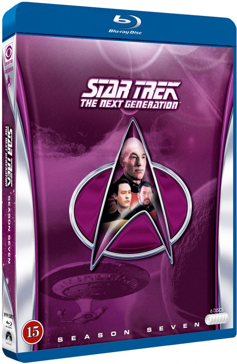 Image of   Star Trek - The Next Generation - Sæson 7 - Blu-Ray - Tv-serie