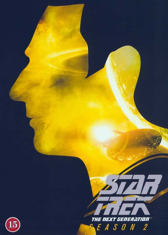 Image of   Star Trek - The Next Generation - Season 2 - DVD - Tv-serie