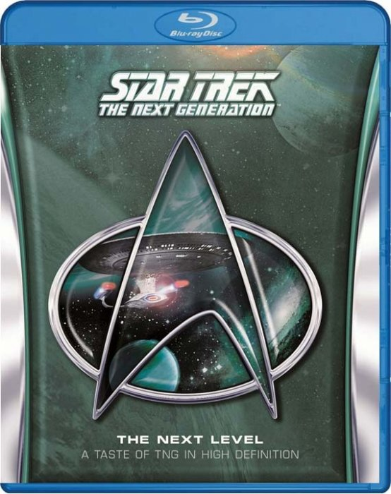 Image of   Star Trek - The Next Level - A Taste Of The Next Generation - Blu-Ray - Tv-serie
