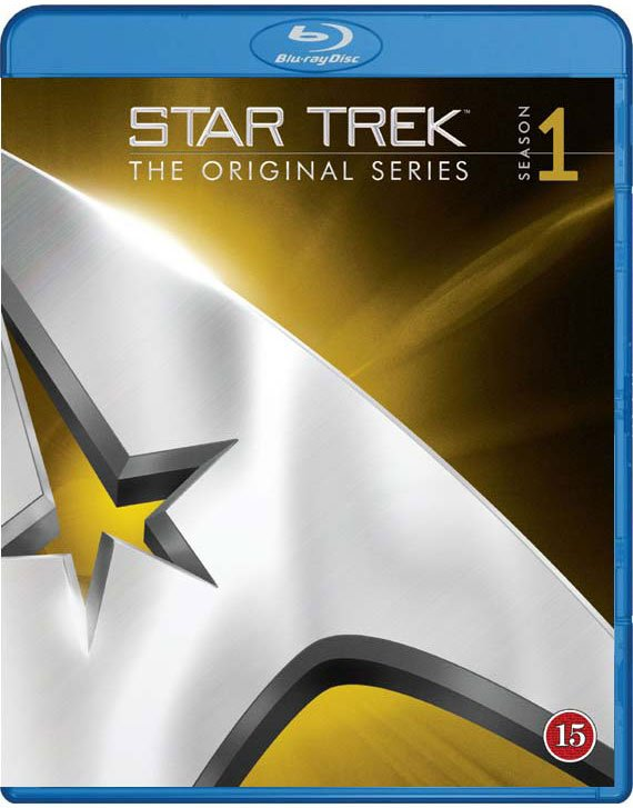 Image of   Star Trek - The Original Serie : Sæson 1 - Blu-Ray - Tv-serie
