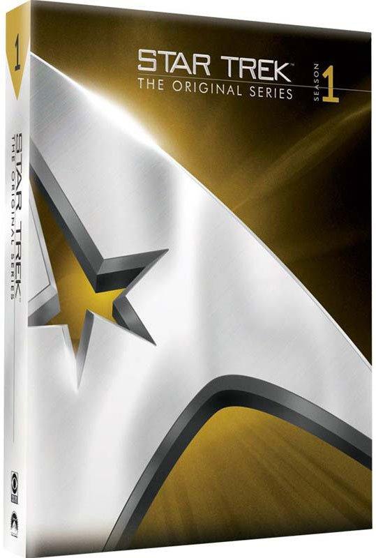 Image of   Star Trek - The Original Serie - Sæson 1 - DVD - Tv-serie