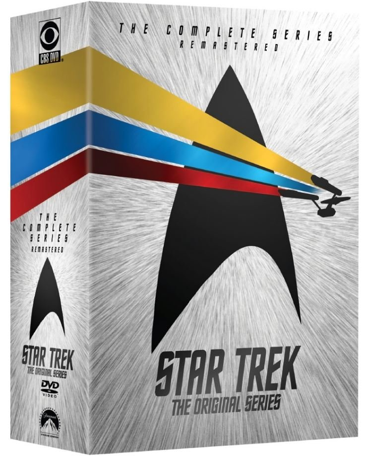 Image of   Star Trek: The Original Series - Den Komplette Serie - Remastered - DVD - Tv-serie