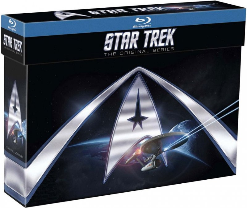 Image of   Star Trek The Original Series - Komplet - Blu-Ray - Tv-serie