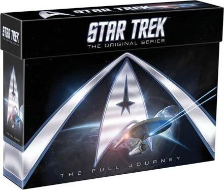 Star Trek - The Original Series - Den Fulde Rejse - DVD - Tv-serie