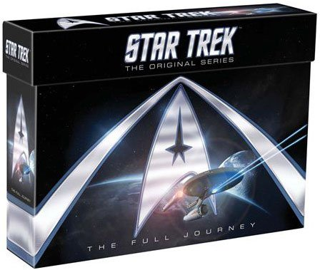 Image of   Star Trek - The Original Series - Den Fulde Rejse - DVD - Tv-serie