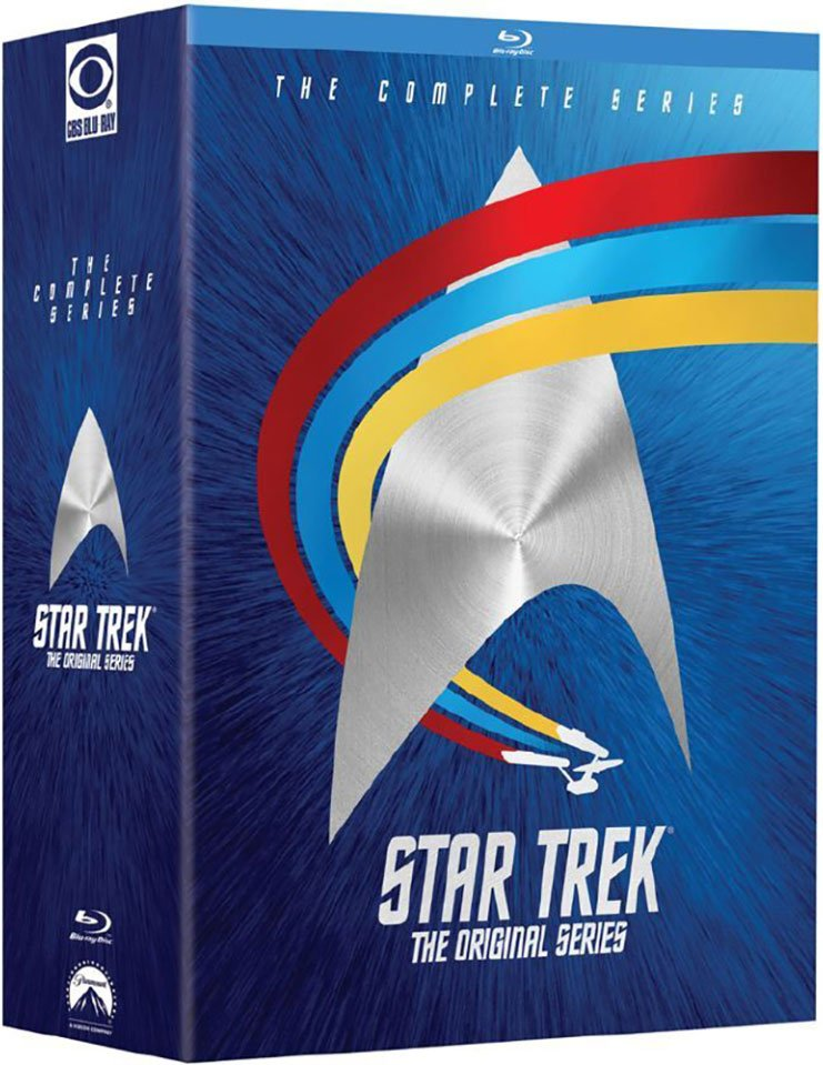 Image of   Star Trek - The Original Series - The Complete Journey - Blu-Ray - Tv-serie