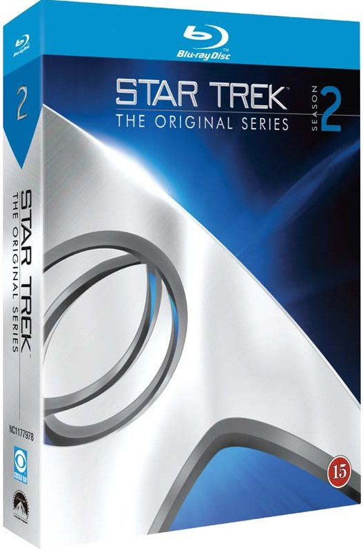 Image of   Star Trek The Original Series - Sæson 2 - Blu-Ray - Tv-serie