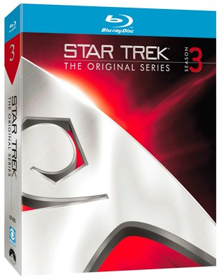 Image of   Star Trek: The Original Series - Sæson 3 - Blu-Ray - Tv-serie