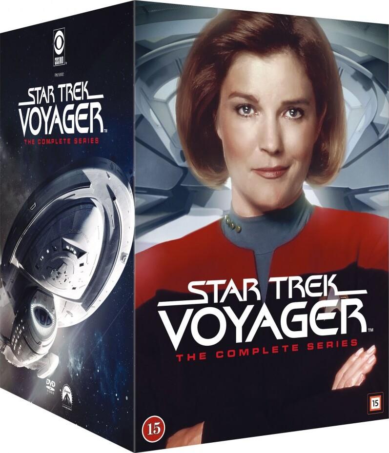 Image of   Star Trek - Voyager Box Set - Hele Serien - DVD - Tv-serie
