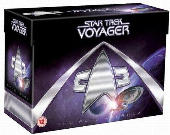 Star Trek - Voyager Box Set - Hele Serien - DVD - Tv-serie