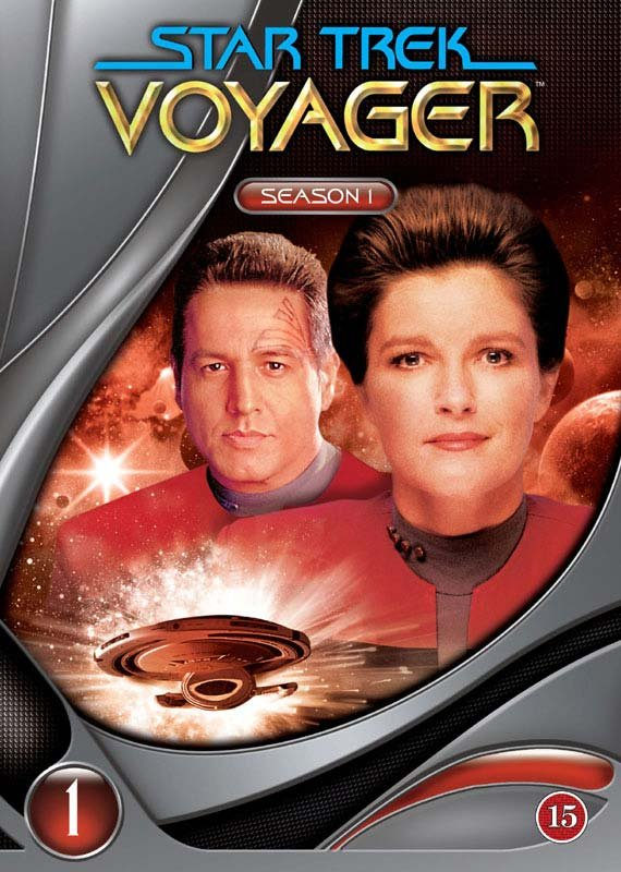 Image of   Star Trek: Voyager - Sæson 1 - DVD - Tv-serie