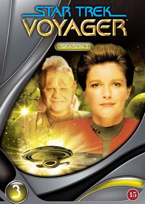 Image of   Star Trek Voyager - Sæson 3 - DVD - Tv-serie