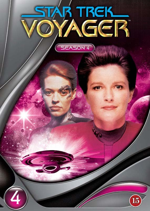 Image of   Star Trek Voyager - Sæson 4 - DVD - Tv-serie