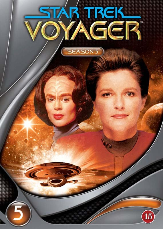 Image of   Star Trek - Voyager - Sæson 5 - DVD - Tv-serie