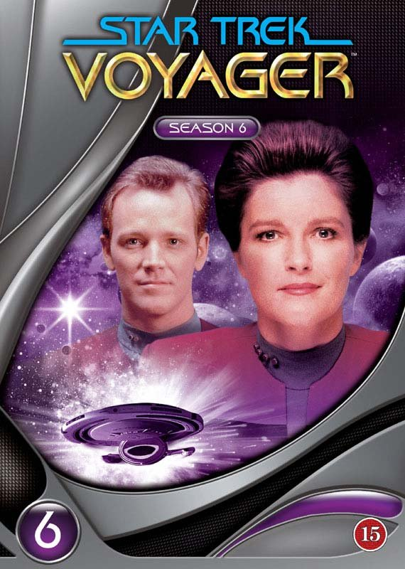 Image of   Star Trek - Voyager - Sæson 6 - DVD - Tv-serie
