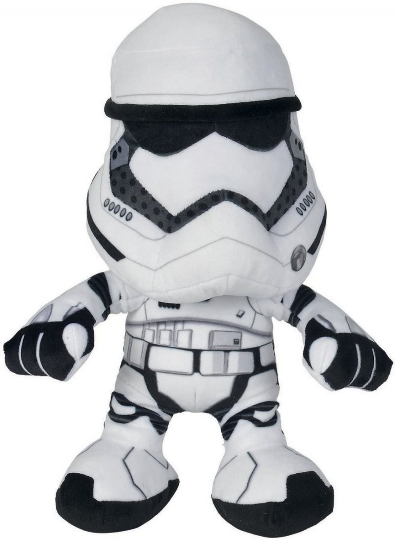 Star Wars The Force Awakens - Stormtrooper I Plys - 25 Cm