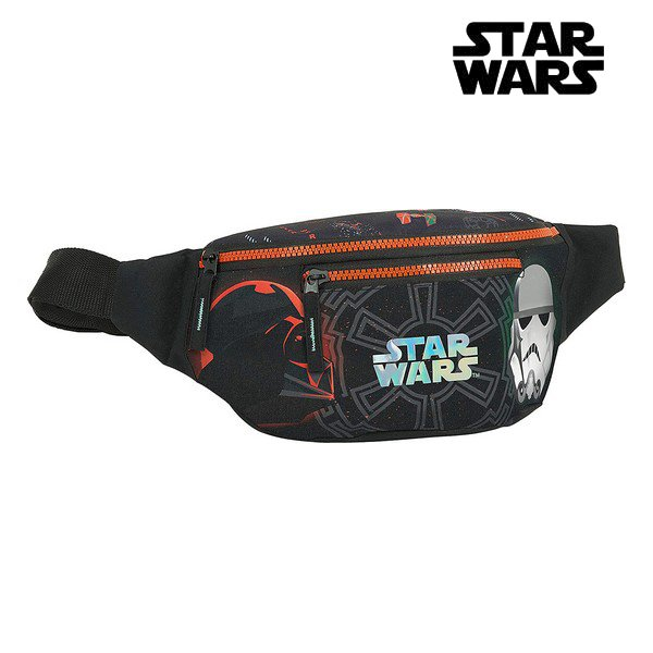 Billede af Bæltetaske Til Børn Med Star Wars Motiv - Sort Orange
