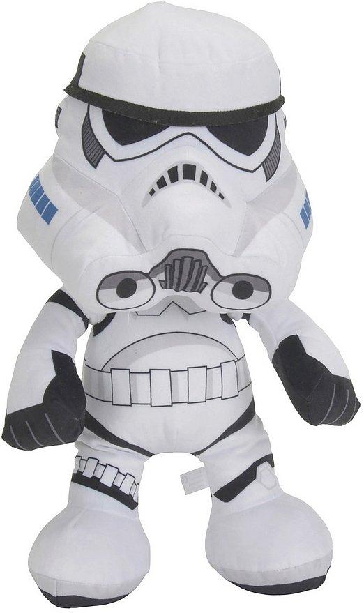 Image of   Star Wars Bamse - Stormtrooper - 45 Cm