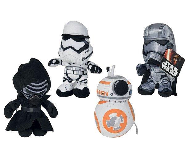 Image of   Star Wars Bamser - Kylo Ren / Captain Phasma / Bb8 / Stormtrooper