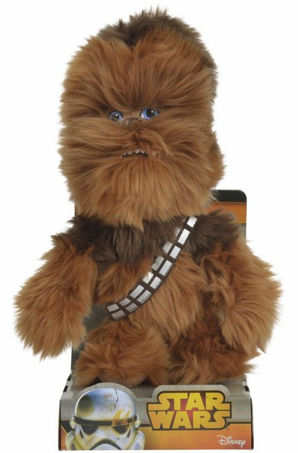 Image of   Star Wars - Chewbacca Bamse - 25 Cm