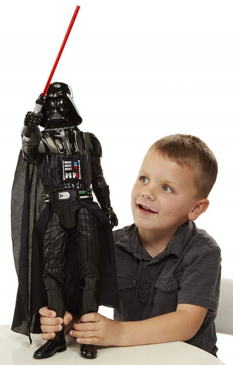 Image of   Star Wars Figur - Darth Vader - 50cm Med Lys Og Lyd