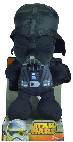 Image of   Star Wars - Darth Vader Bamse - 25 Cm