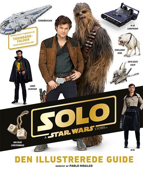Star Wars™ - Han Solo - Den Illustrerede Guide - Pablo Hidalgo - Bog