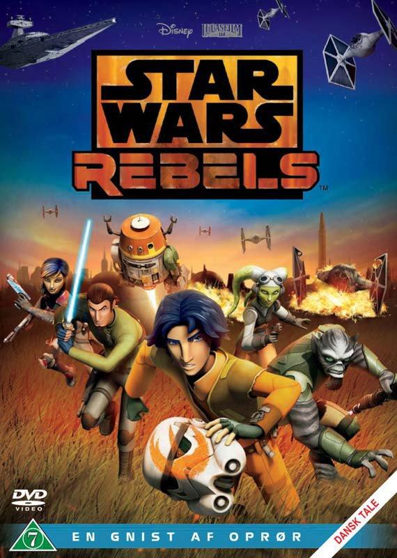 Billede af Star Wars Rebels: En Gnist Af Oprør / Spark Of Rebellion - DVD - Film