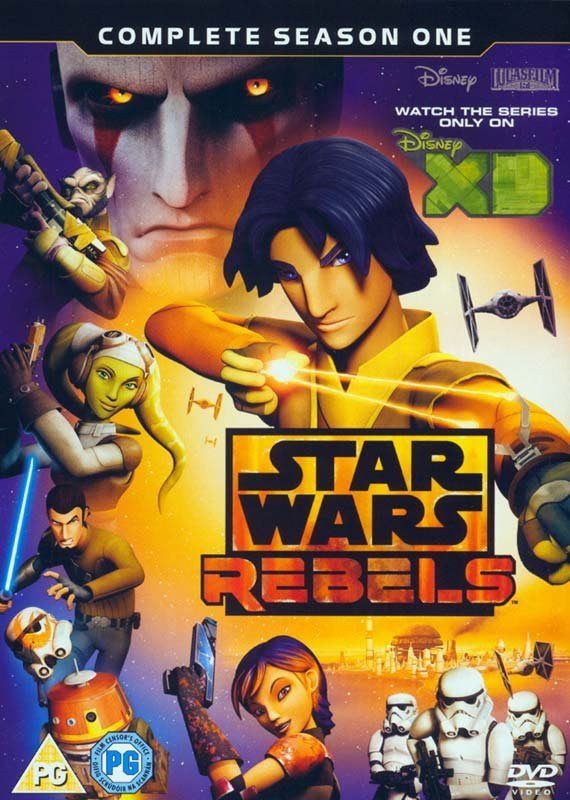 Billede af Star Wars Rebels - Sæson 1 - DVD - Film