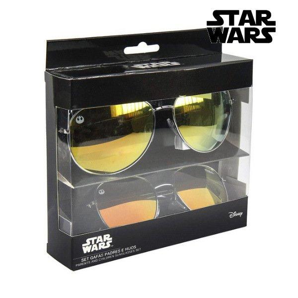 Star Wars - Solbriller Til Børn Og Voksne - Sølv - 2 Stk