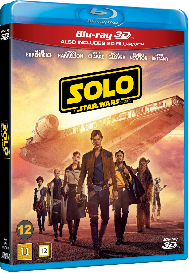 Image of   Solo - A Star Wars Story - 3D Blu-Ray