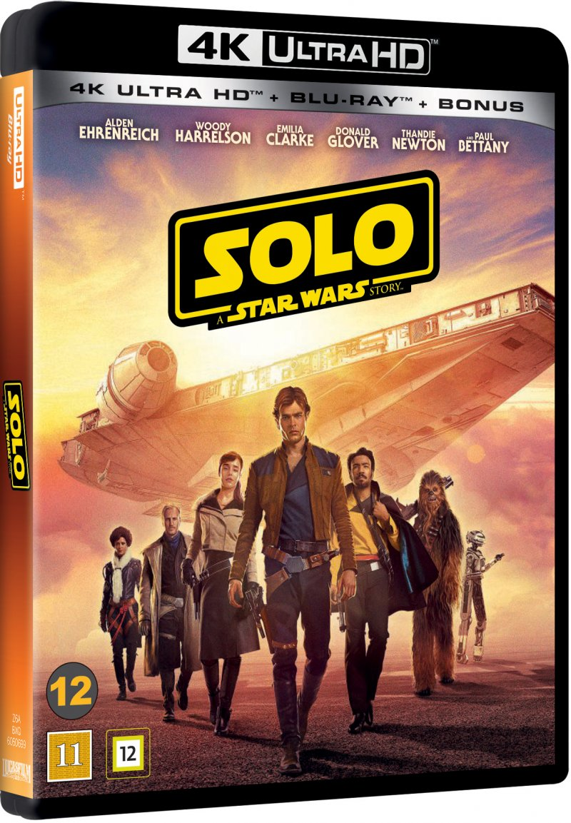 Image of   Solo: A Star Wars Story - 4K Blu-Ray