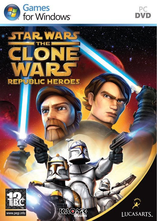 Image of   Star Wars The Clone Wars: Republic Heroes - PC