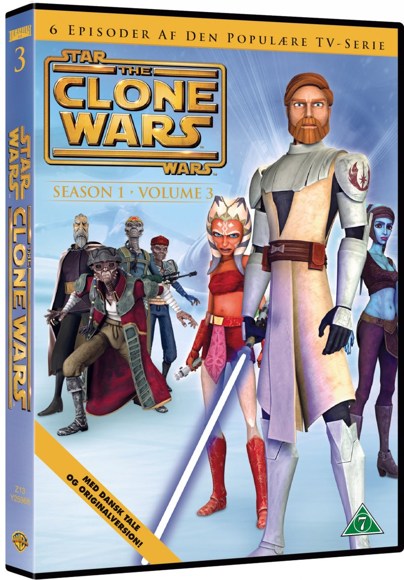 Billede af Star Wars - The Clone Wars - Sæson 1 Vol. 3 - DVD - Film