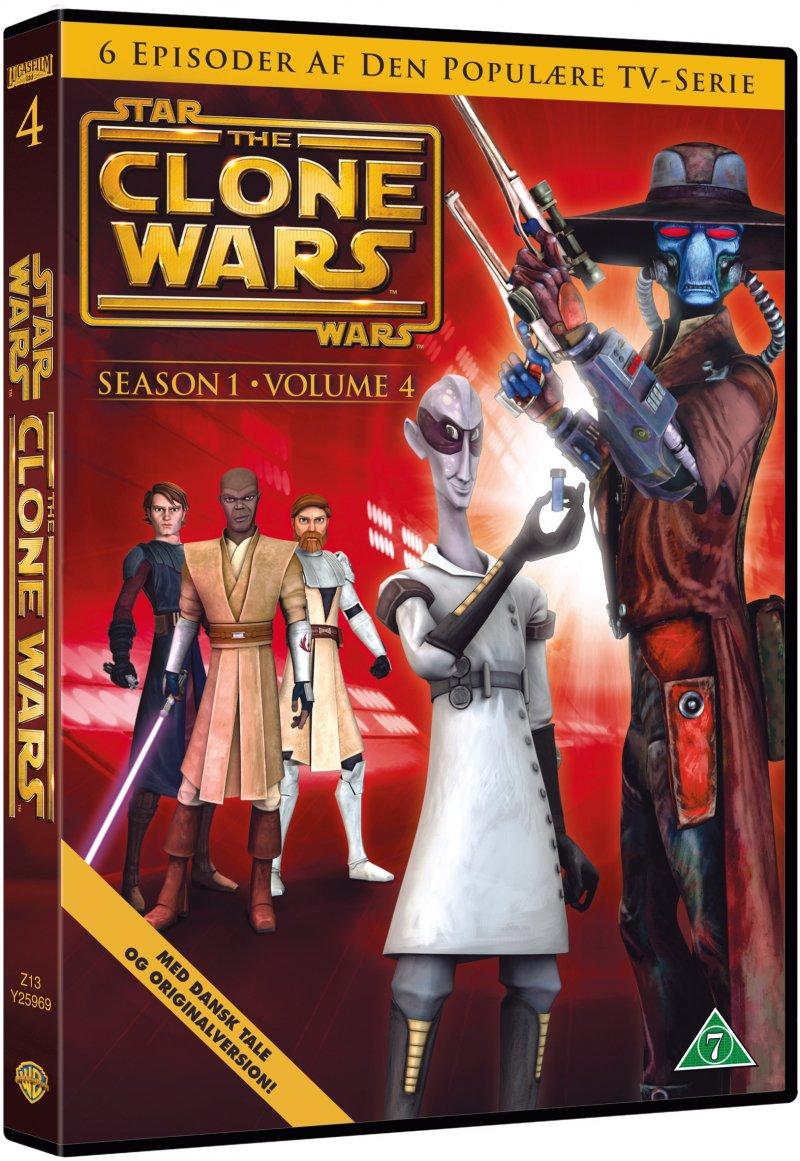 Billede af Star Wars - The Clone Wars - Sæson 1 - Vol. 4 - DVD - Film