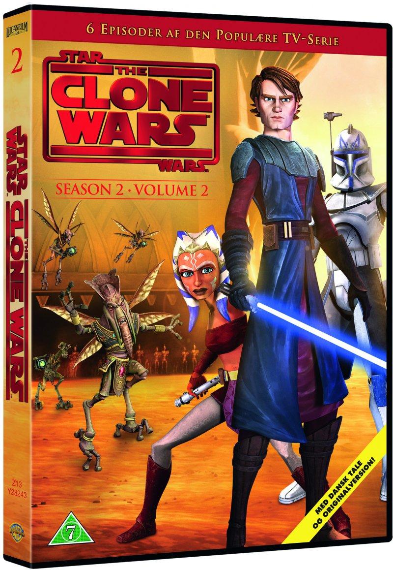 Billede af Star Wars - The Clone Wars - Sæson 2 Vol. 2 - DVD - Film