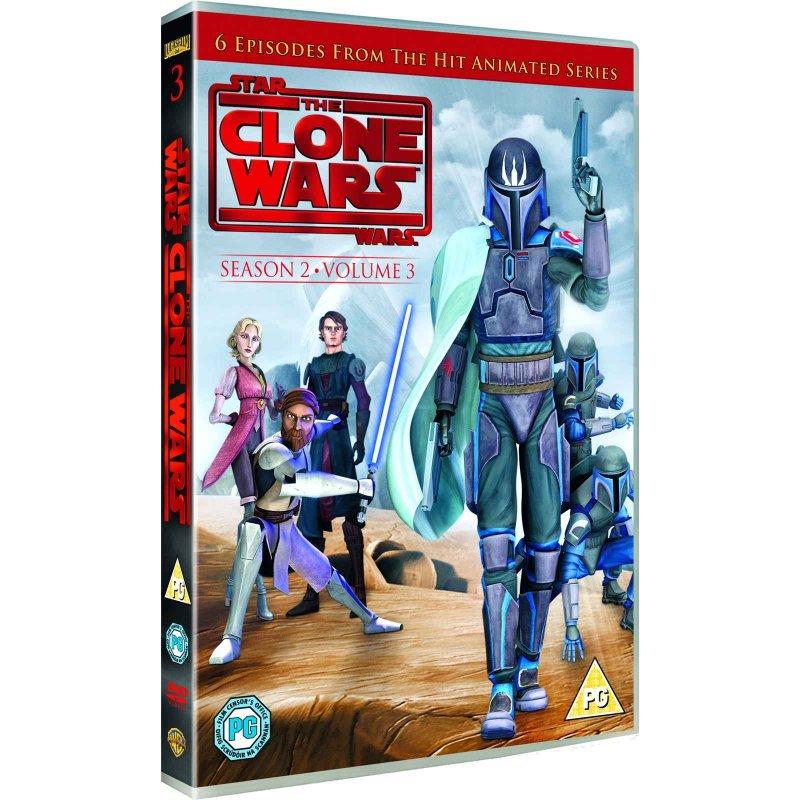 Billede af Star Wars: The Clone Wars - Sæson 2 Vol. 3 - DVD - Film
