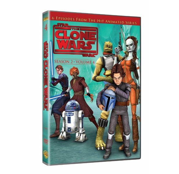 Billede af Star Wars: The Clone Wars - Sæson 2 Vol. 4 - DVD - Film