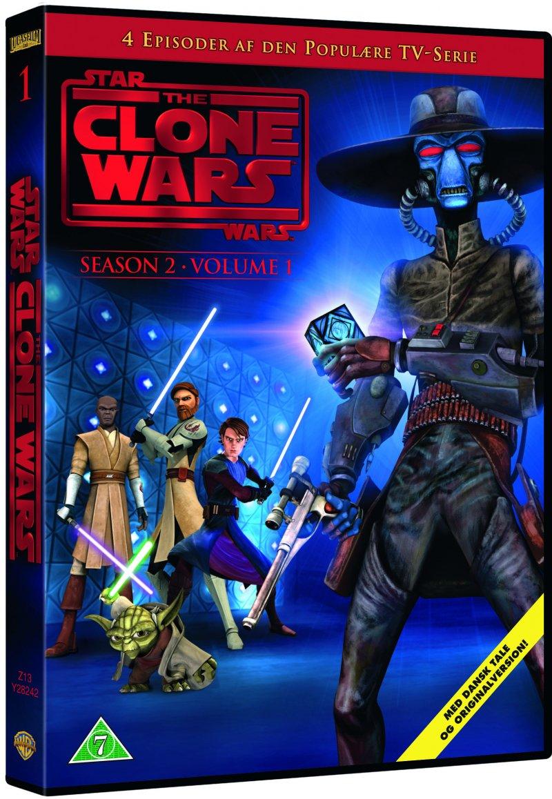 Billede af Star Wars: The Clone Wars - Sæson 2 Vol. 1 - DVD - Film