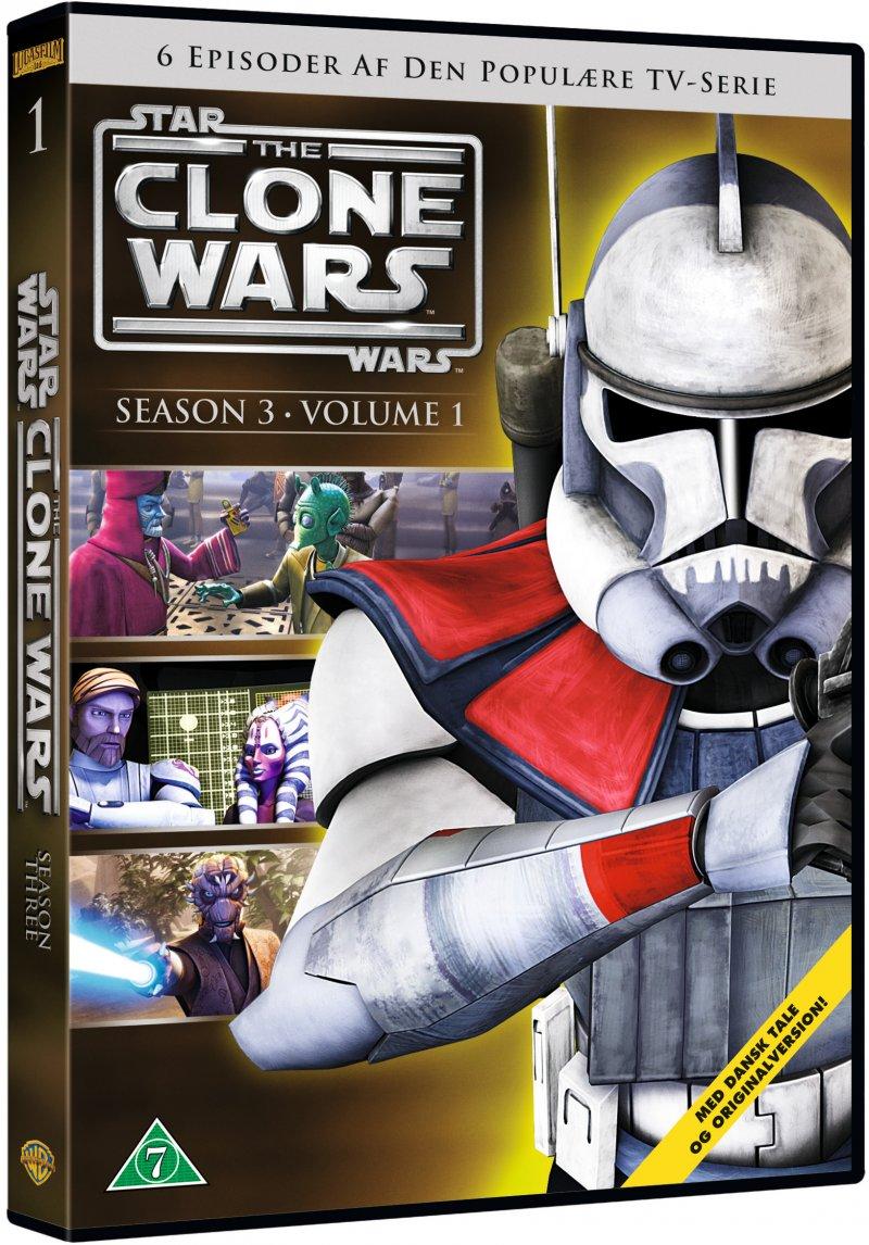 Billede af Star Wars: The Clone Wars - Sæson 3 Vol. 1 - DVD - Film