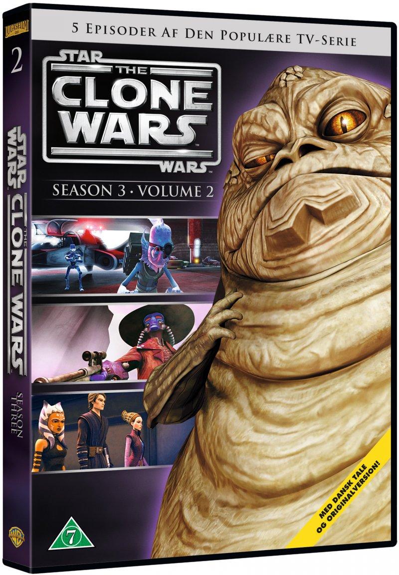 Billede af Star Wars: The Clone Wars - Sæson 3 Vol. 2 - DVD - Film