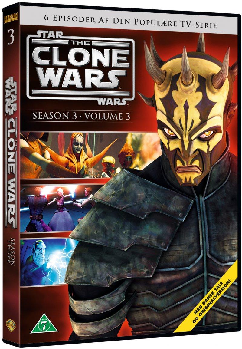 Billede af Star Wars: The Clone Wars - Sæson 3 Vol. 3 - DVD - Film