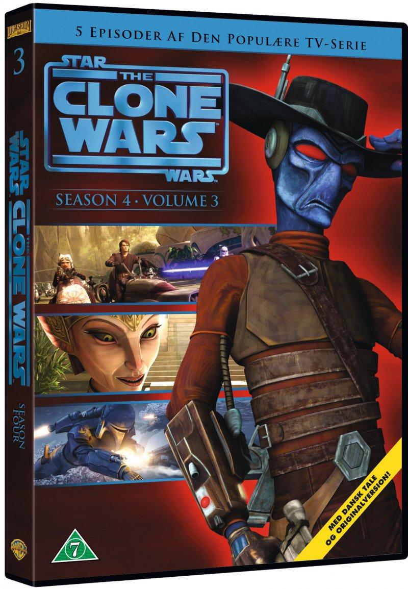 Billede af Star Wars: The Clone Wars - Sæson 4 Vol. 3 - DVD - Film