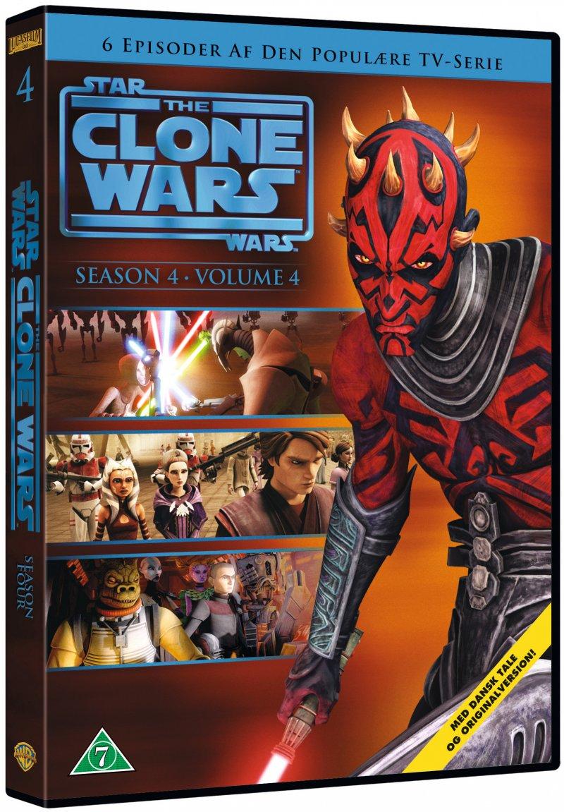 Billede af Star Wars: The Clone Wars - Sæson 4 Vol. 4 - DVD - Film