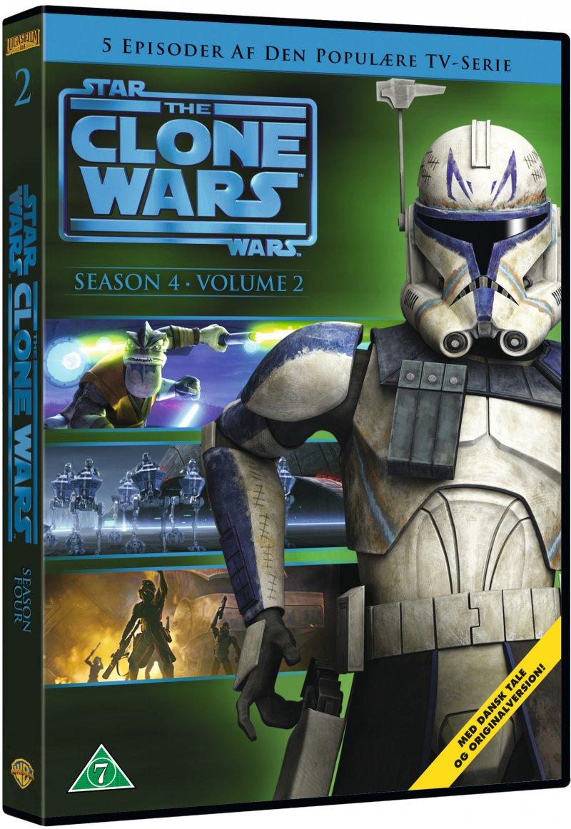 Billede af Star Wars: The Clone Wars - Sæson 4 Vol. 2 - DVD - Film