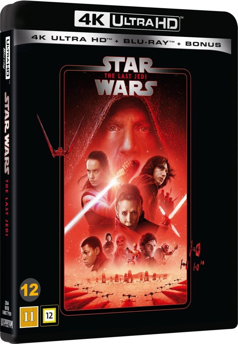 Star Wars The Last Jedi Episode 8 2020 Udgave 4k