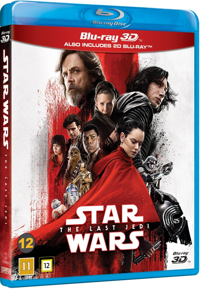 Star Wars - The Last Jedi - 3D Blu-Ray