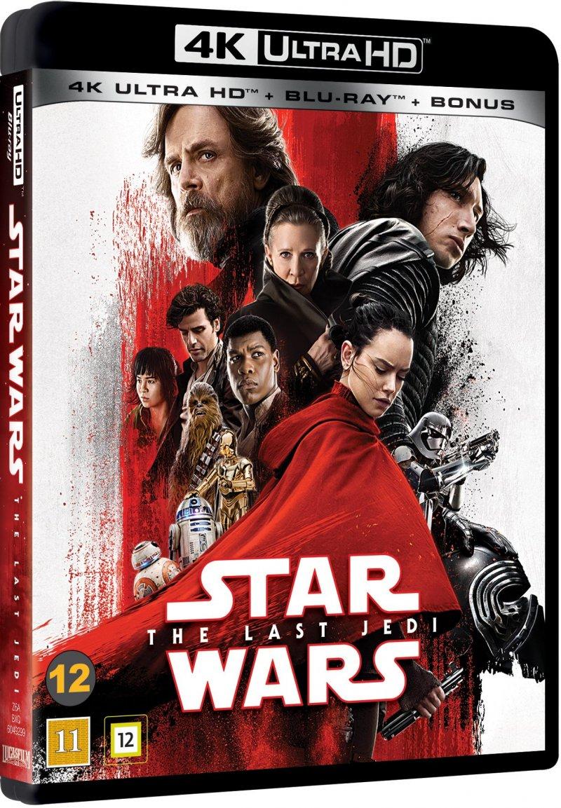 Image of   Star Wars: Episode Viii - The Last Jedi - 4K Blu-Ray